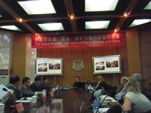 2013 - presentatie conferentie Beijing Future of social welfare